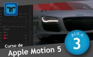 Curso de Apple Motion - Aula 03 - TOOLs - A Barra de ferramentas do Apple Motion 5.